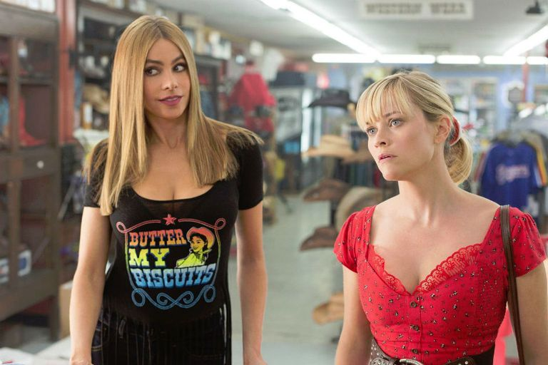 Sofía Vergara y Reese Witherspoon en Dos locas en fuga