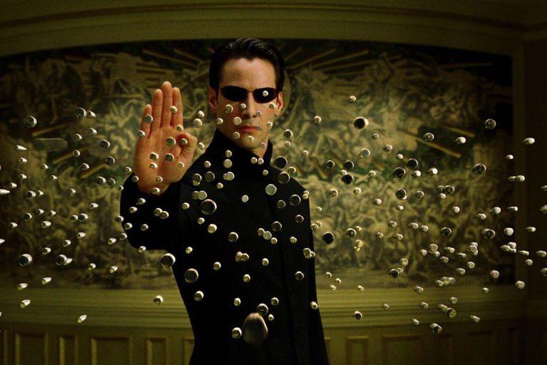 Keanu Reeves en Matrix 3