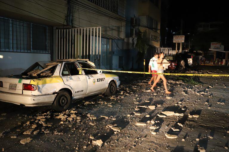 Un sismo de 7,1 con epicentro en Acapulco hizo temblar a Ciudad de México: al menos un muerto