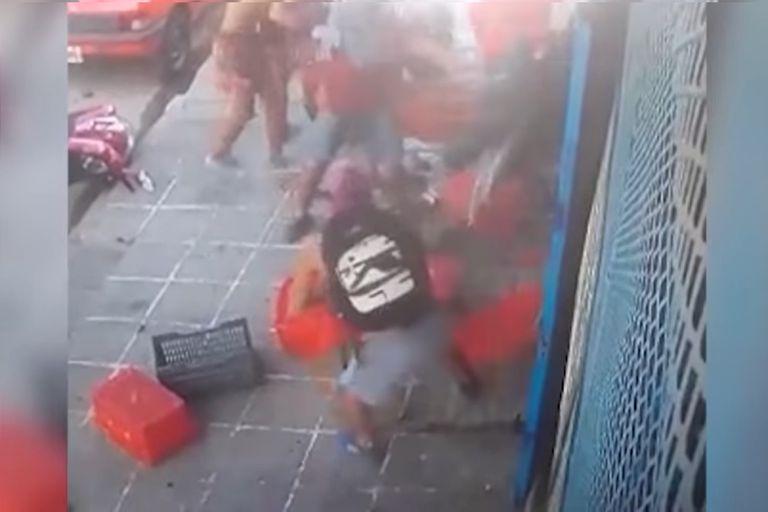 """Allanamiento en Pergamino por el robo """"piraña"""" a un supermercado"""