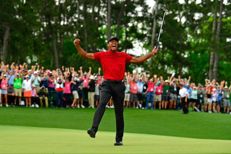 Tiger Woods ganó en Augusta su 15° título