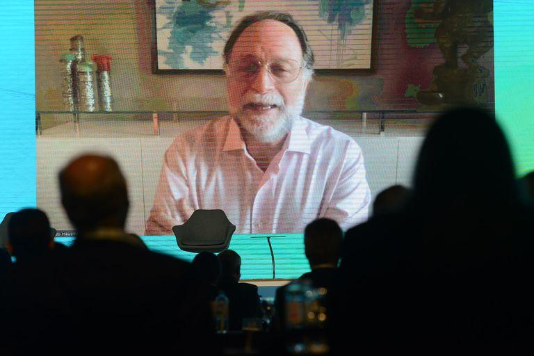 El economista Ricardo Hausmann, durante el Coloquio de IDEA