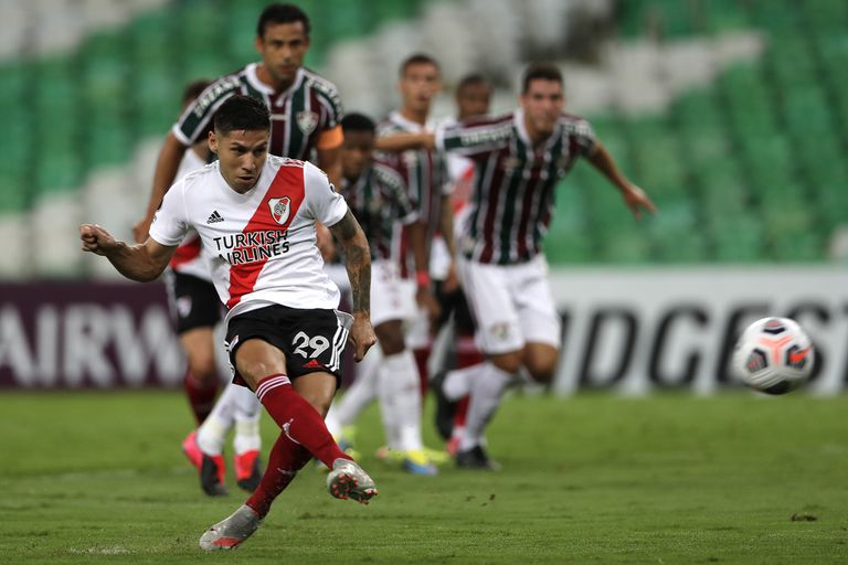 River, de mayor a menor: igualó en el debut de la Libertadores con Fluminense