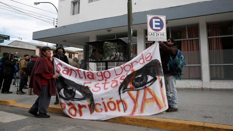 """El cabo Darío Rafael Zoilán, escopetero del escuadrón El Bolsón, reconoció haber efectuado """"uno o dos disparos"""" a un manifestante que cruzaba el río Chubut en el operativo del 1 de agosto"""