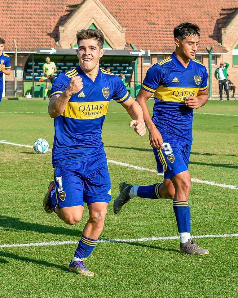Boca derrotó por 3-1 a Banfield en la Reserva con goles de Taborda (2) y Escalante