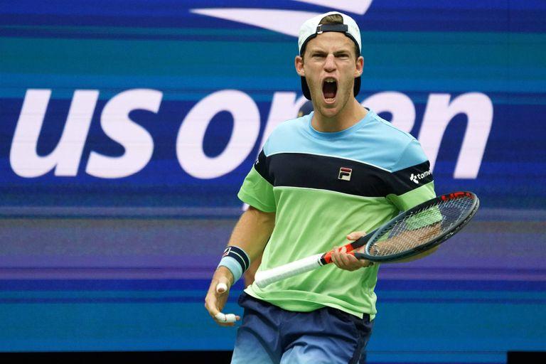Sensacional: Schwartzman, entre los ocho mejores del US Open