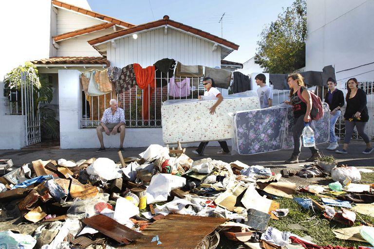 La Plata: las fotos de la trágica inundación ocurrida hace 8 años