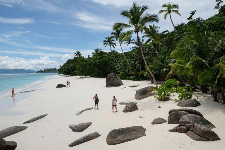 Las playas de Seychelles