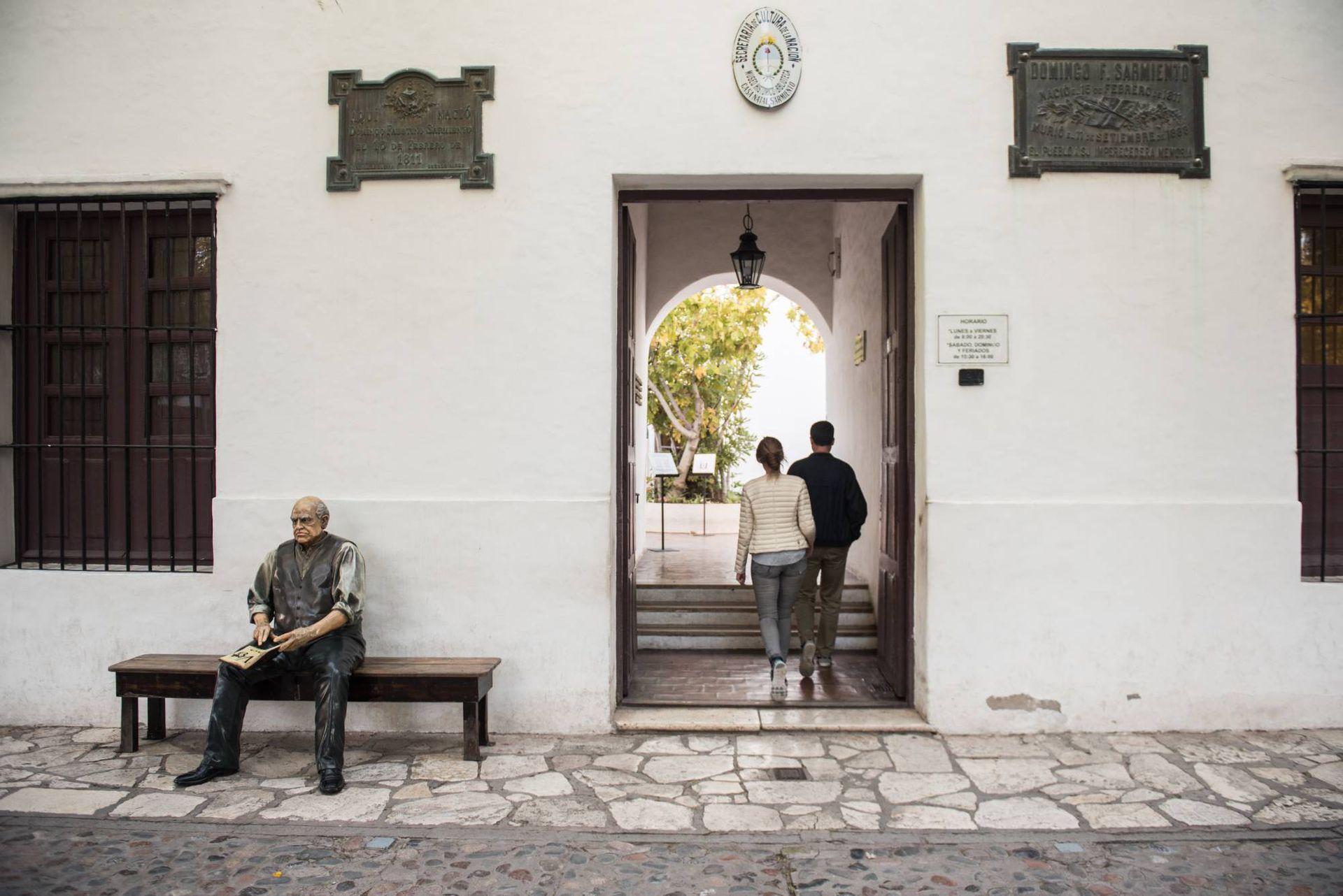 Casa natal de Sarmiento. San Juan.