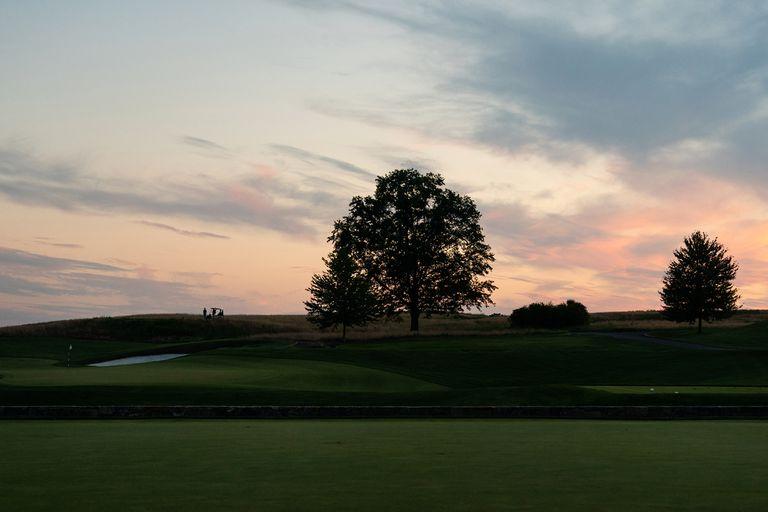 El Trump National Golf Club en Bedminster, en Nueva Jersey