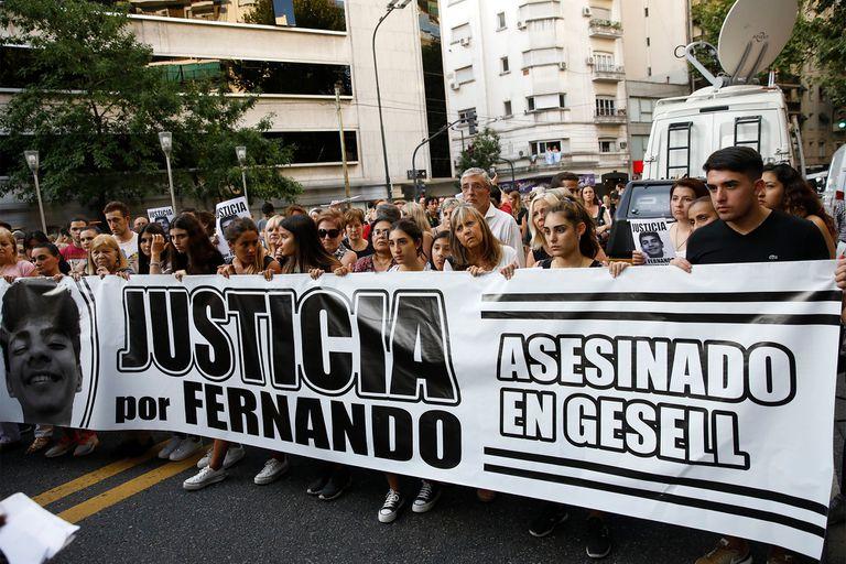 El asesinato de Fernando Báez Sosa causó una fuerte conmoción social