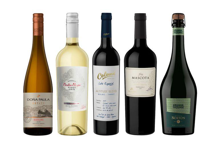 Algunas etiquetas de Riesling, Pinot Gris, Tannat, Tempranillo y Grüner Veltliner que pasaron por Club BONVIVIR el año pasado