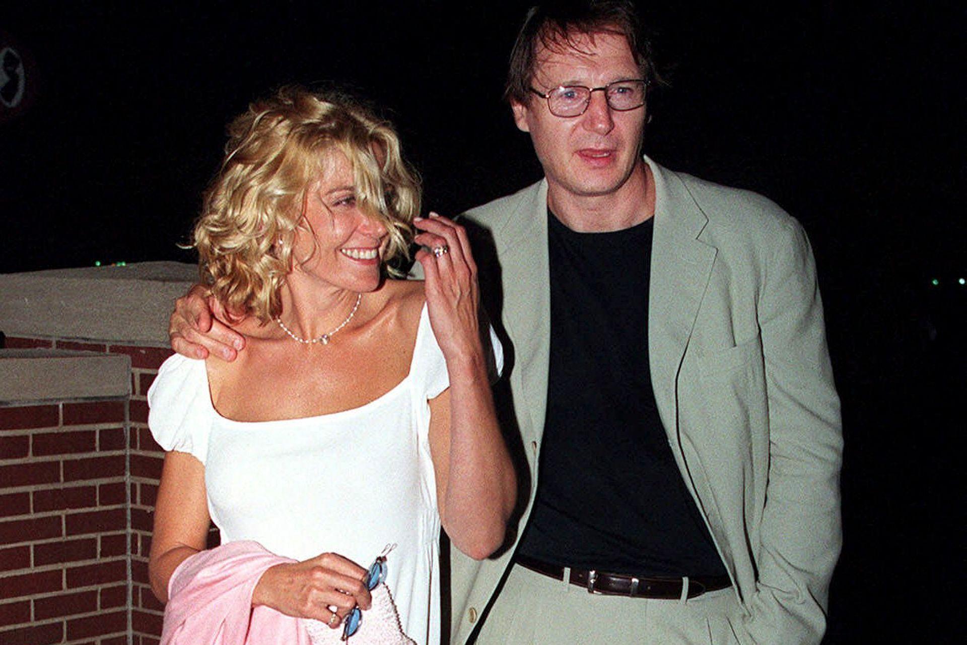 Natasha Richardson y Liam Neeson: un amor prohibido que conoció la felicidad y terminó en tragedia