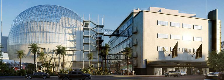 Una vista del museo, diseñado por Renzo Piano, que abrirá el jueves al público en Los Ángeles