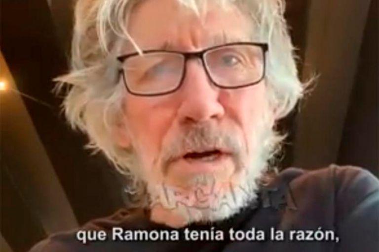 """Rorger Waters se refirió a la muerte de Ramona Medina: """"Tenía razón"""""""