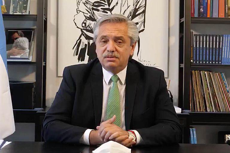 El presidente Alberto Fernández anunció ayer el envío al Congreso del proyecto de legalización del aborto