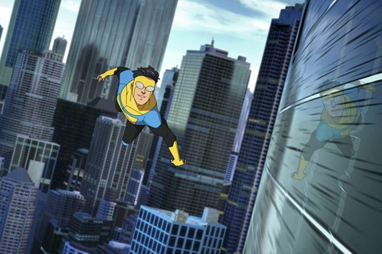 Invincible, una serie animada con las voces de J.K Simmons y Steven Yeun