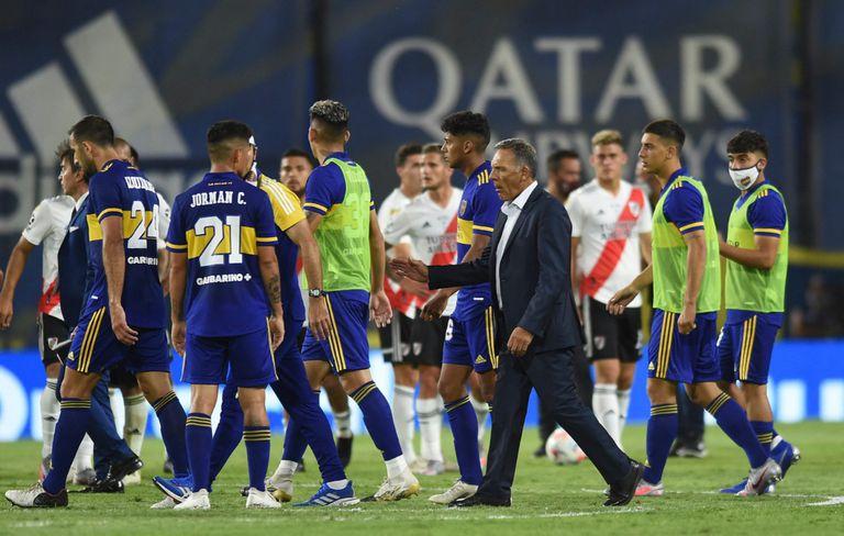 Miguel Ángel Russo nunca le ganó a River como DT de Boca; por eso el de la Copa de la Liga Profesional será un superclásico clave para el entrenador.