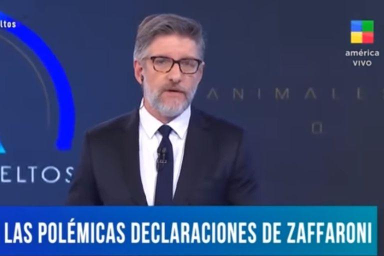 "Luis Novaresio: ""Zaffaroni intentó ser abogado de Cristina"""