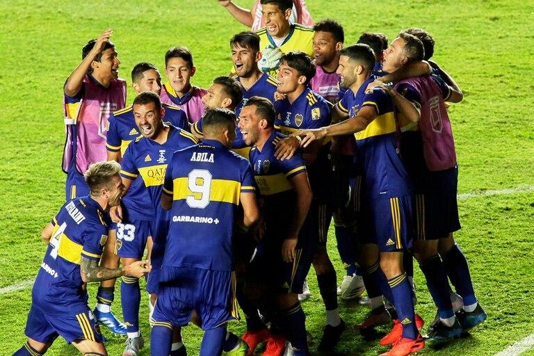 Boca celebra el título local