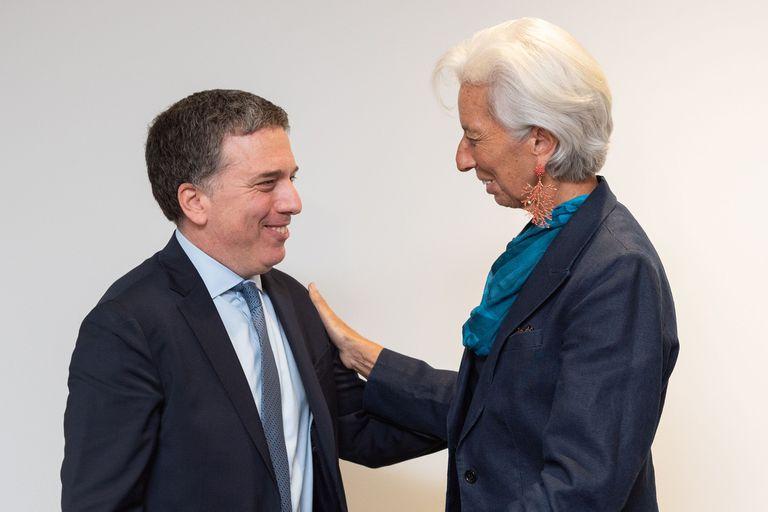 El mensaje de WhatsApp de Dujovne a Lagarde tras su salida