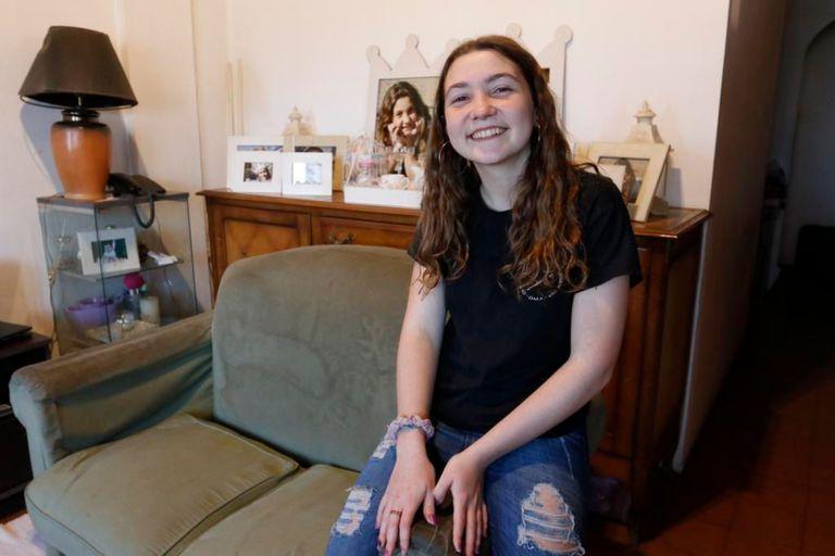 María de los Milagros tiene 13 años y superó una difícil prueba