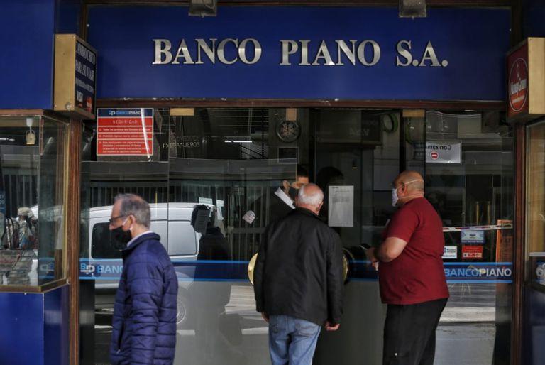 Sucursal de Banco Piano en la city porteña