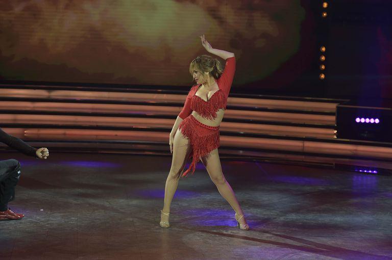 """La Academia: con su buena energía, """"La Princesita"""" sorprendió en el ballroom"""