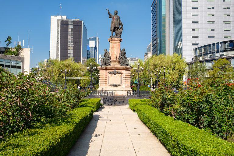 Monumento a Colón en Ciudad de México