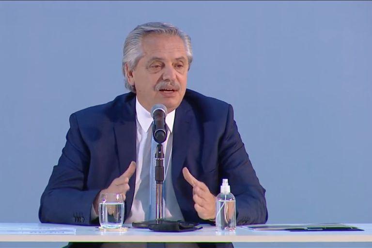 El presidente Alberto Fernández lanza el Plan de Promoción de la Producción de Gas Argentino 2020-2024.