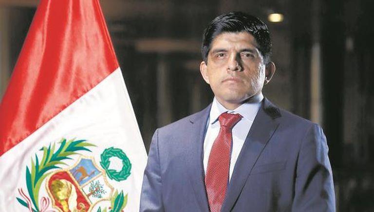 Juan Manuel Carrasco Millones, ministro del Interior de Perú
