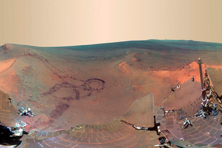 El robot Opportunity completó 3000 días de trabajo en el planeta rojo