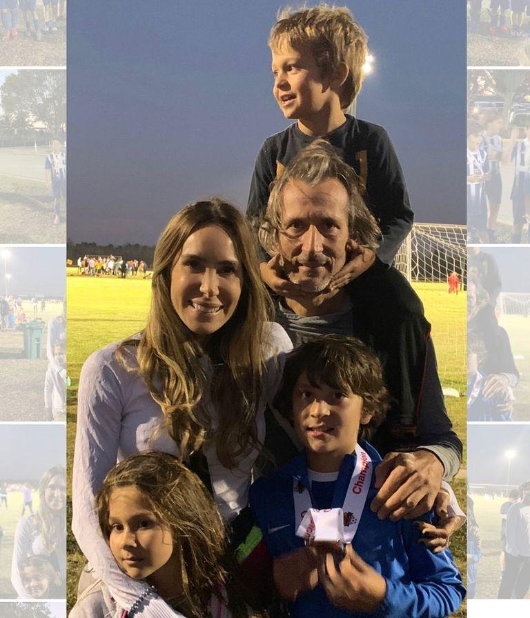 La actriz venezolana Natalia Streignard se casó con el empresario Donato Calandriello y tuvo tres hijos: Jacques, de 9 años; Gia, de 6 y Geanni, de 3.