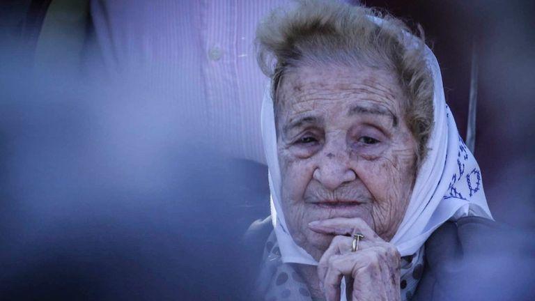 Murió a los 95 años la vicepresidenta de Asociación Madres de Plaza de Mayo