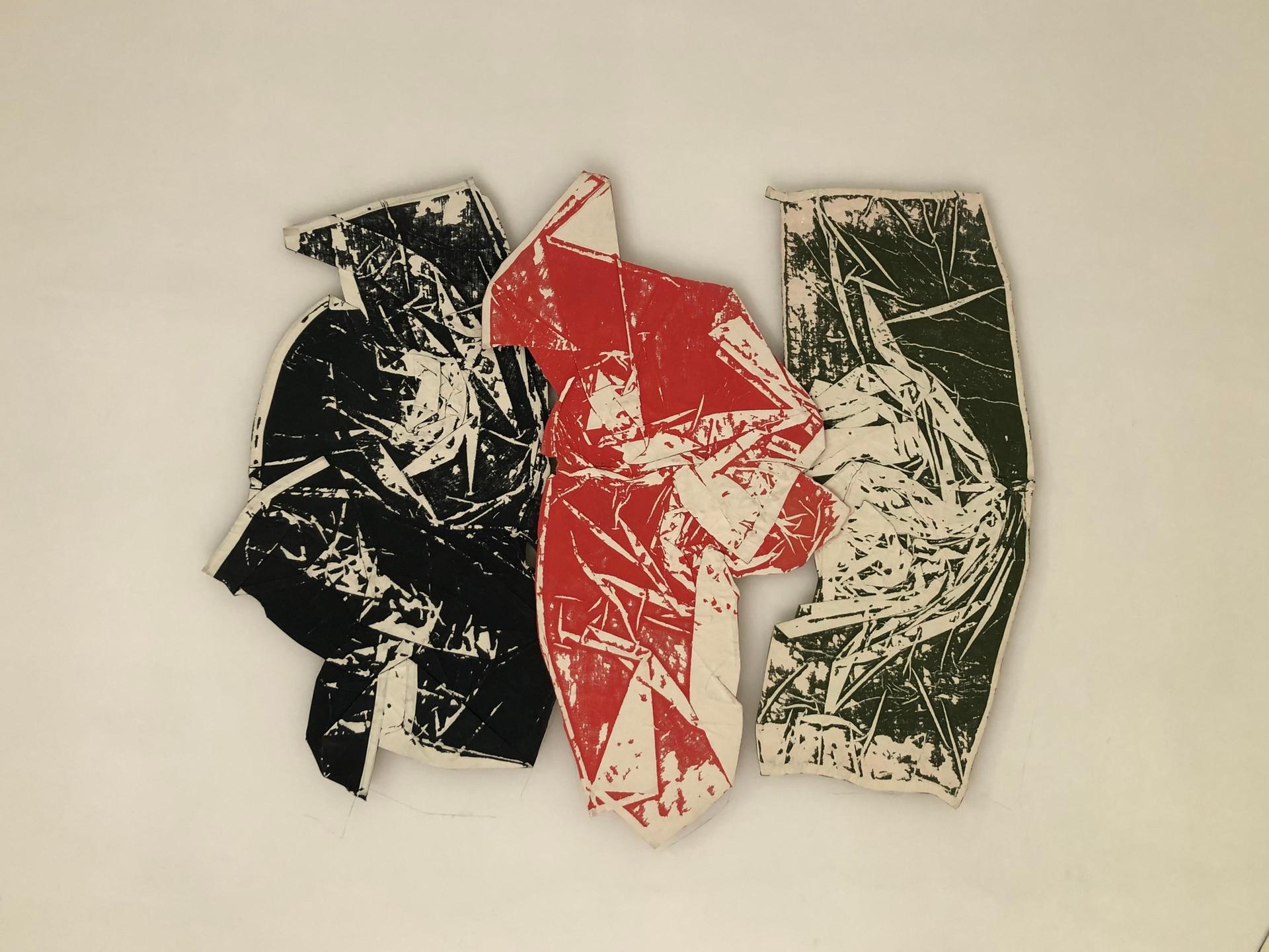 Una de las creaciones textiles de Jessica Trosman y Martín Churba