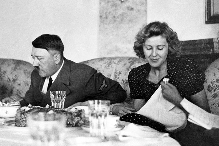 Una de las últimas comidas que compartieron Adolf Hilter y Eva Braun antes de suicidarse