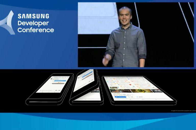 La tecnología Inifinity Display Flex estará acompañada por una segunda pantalla táctil