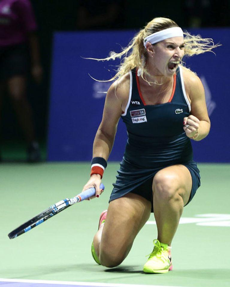 Domika Cibulkova quedó segunda en el Grupo Rojo