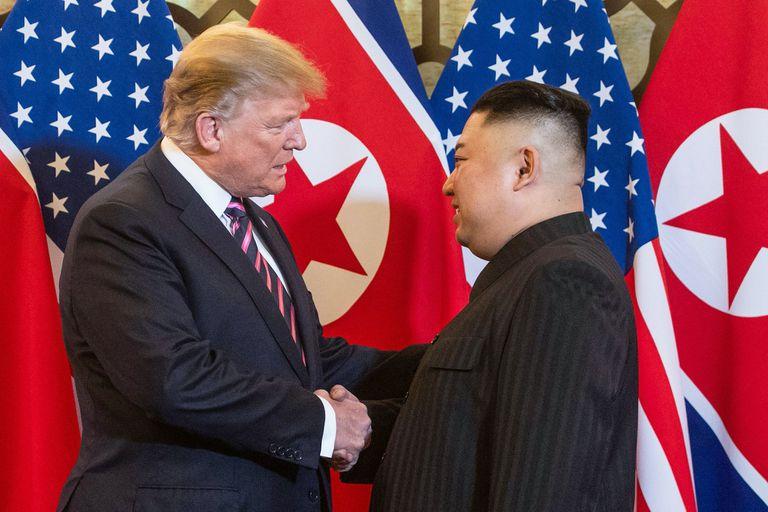 En fotos. Las mejores imágenes del encuentro entre Donald Trump y Kim Jong-un
