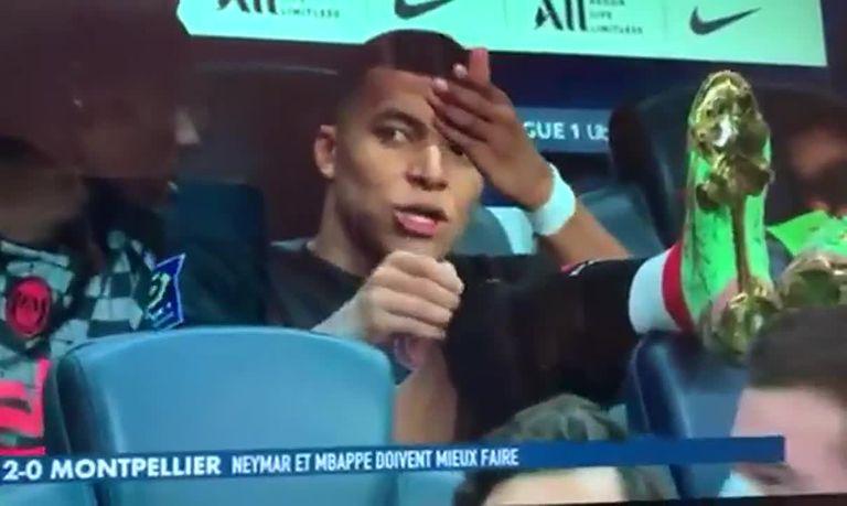 Mbbapé arremetió contra Neymar, una cámara lo captó y la TV francesa expuso otro conflicto