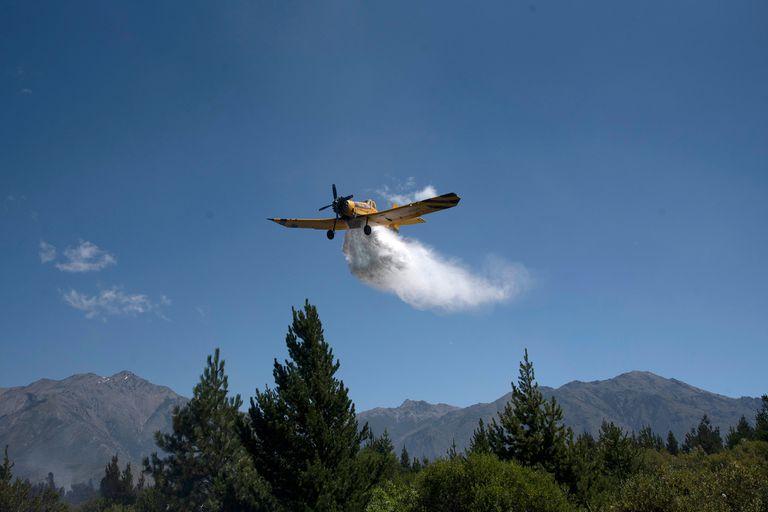 Continuan los incendios forestales en la zona de Epuyen