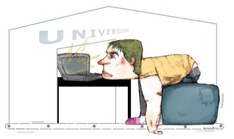 Los universitarios de la pandemia, entre la resignación y el silencio