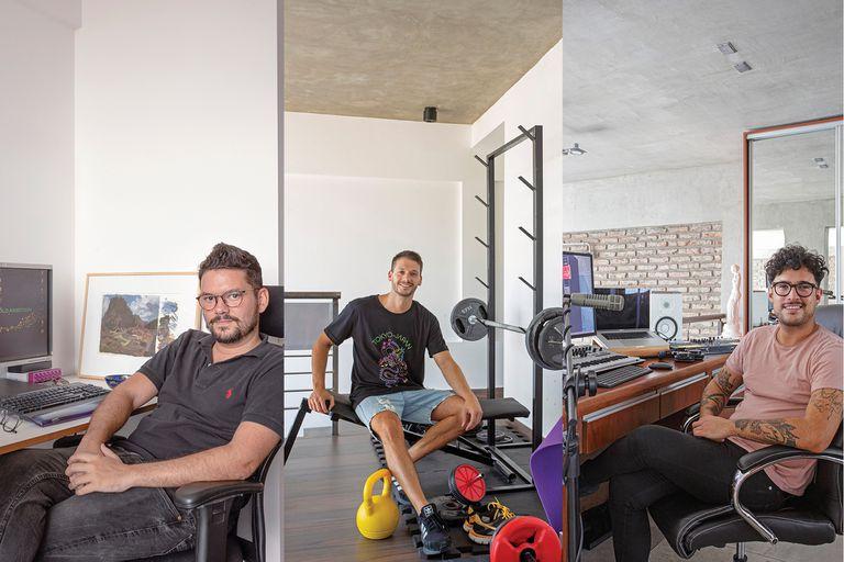 Tres vecinos. Abren sus hogares en un edificio inspirado en la cultura brasileña