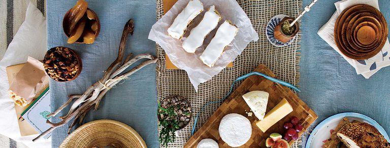 Tarde en familia. Anita Ortuño nos da ideas para una mesa con sabores muy nuestros