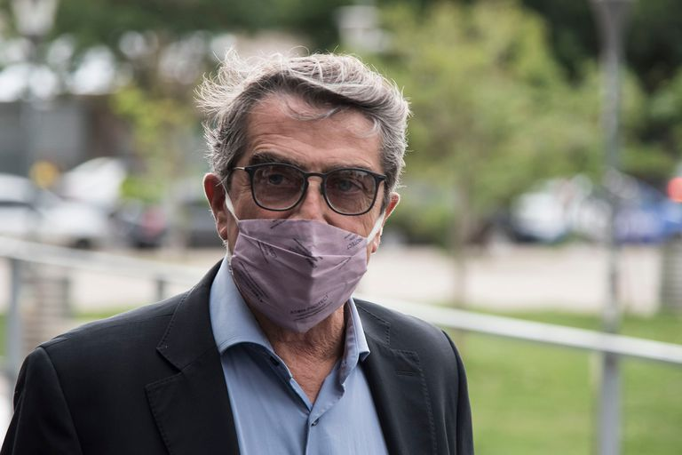 Armando Traferri, el viernes, al presentarse ante los fiscales