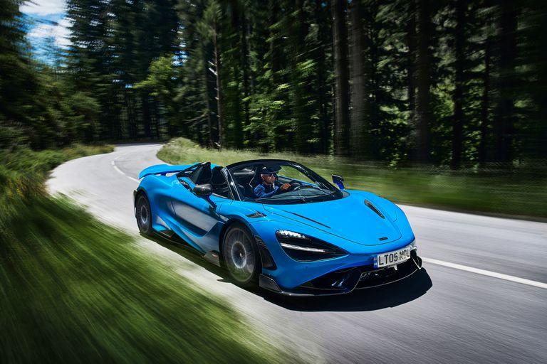McLaren 765 LT Spider: un cabrio demasiado poderoso