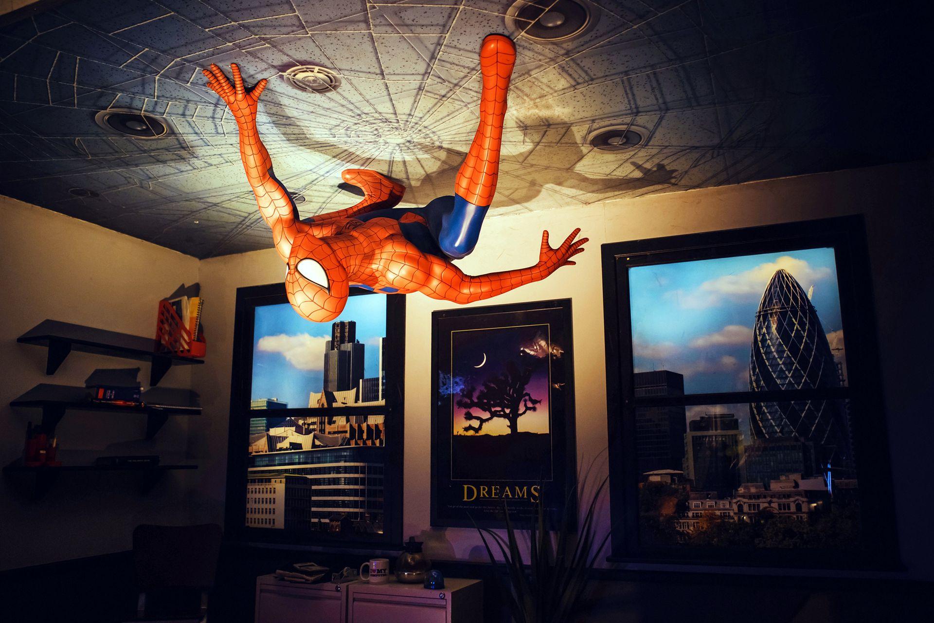 Spider Man, otra estrella del Madame Tussaud´s