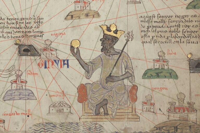 Mansa Musa consiguió un relevante logro: que su reino fuera incluido en el Atlas Catalán, el mapa europeo más importante de aquellos años