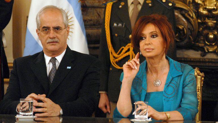 Taiana y Cristina, candidatos a senadores por Unión Ciudadana