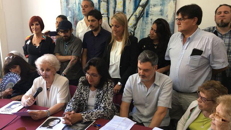 Abuelas de Plaza de Mayo anunciaron que encontraron a la nieta número 127